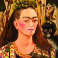 Frida Kahlo, Self Portrait with Monkey, 1945