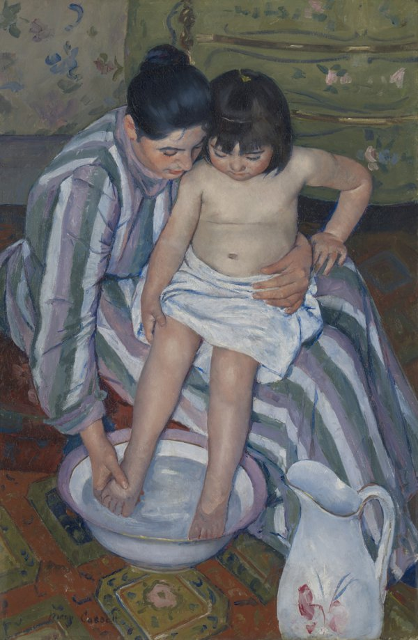 Mary Stevenson Cassatt, The Child's Bath