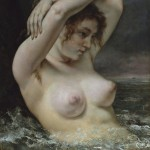Gustave Courbet, The Woman in the Waves