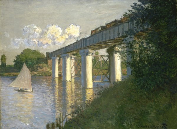 Claude Monet, Railroad Bridge