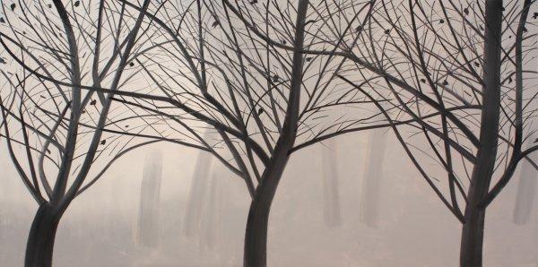 Alex Katz, Winter Landscape 2, 2007