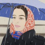 Alex Katz, Blue Umbrella #2, 1972