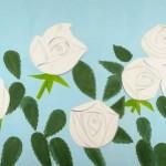 Alex Katz, White Roses 9, 2012