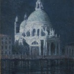 John Leslie Breck, Santa Maria della Salute by Moonlight, 1897