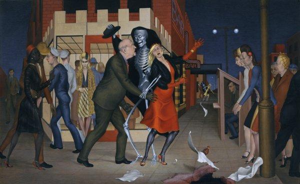George Tooker, Dance, 1946
