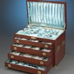 20-inch-high fitted chest for the Gorham Martelé set;
