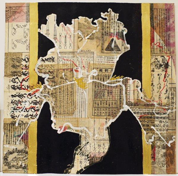 Robert Kushner, Heraldic Iris, 2012