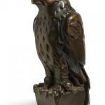 """""""Maltese Falcon"""" figurine, 1941."""