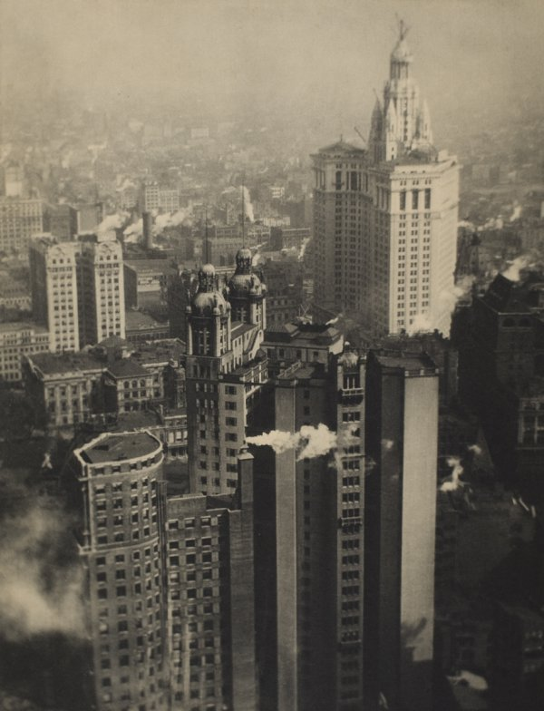 Alvin Langdon Coburn, New York from its Pinnacles