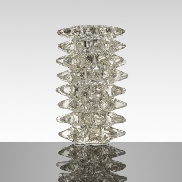 Ercole Barovier, monumental Rostrati vase