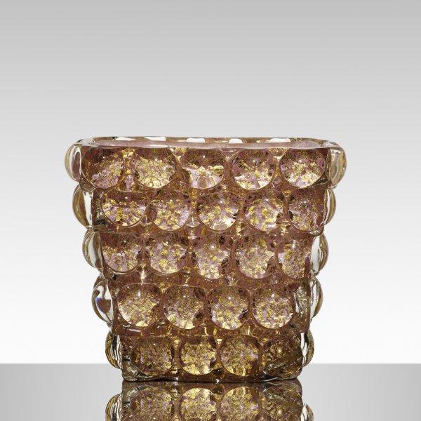 Ercole Barovier, Lenti vase