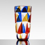Ercole Barovier, monumental Intarsio vase