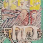 Mark Rothko, The Omen of the Eagle, 1942,