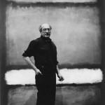Mark Rothko with No. 7, 1960