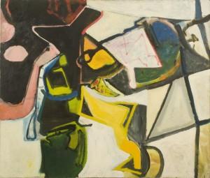 Elmer Bischoff, Untitled, 1952