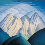 Lawren Harris, Untitled (Mountains Near Jasper)