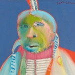 Fritz Scholder, Monster Indian, 1968