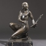 Paul Manship, Lyric Muse, 1912.