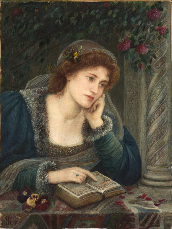 Marie Spartali Stillman, Beatrice, 1896