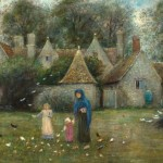 Marie Spartali Stillman, Kelmscott Manor: From the Field