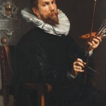Joachim Anthonisz Wtewael, Self-Portrait, 1601
