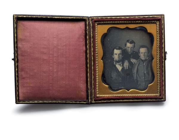 Portrait of 3 Unidentified Men, circa 1850