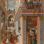 Carlo Crivelli, The Annunciation with Saint Emidius