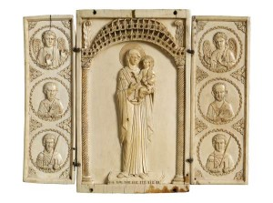 The Werhner Triptych, Byzantine, 10th century, ivory.