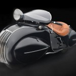 O. Ray Courtney, Henderson Motorcycle Co., KJ Streamline Motorcycle, 1930