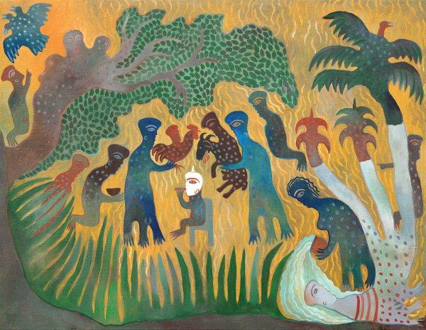 Manuel Mendive, Ofrenda (Offering), 2002
