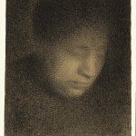Georges Seurat, Madame Seurat, the Artist's Mother (Madame Seurat, mère)