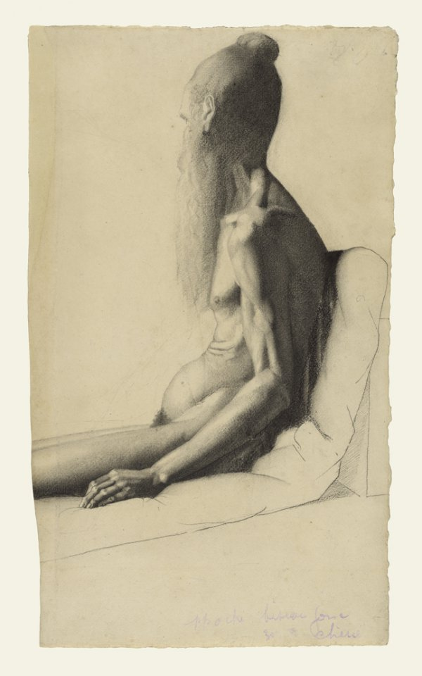 Georges Seurat, Indian Holy Man