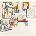 Jackson Pollock, Untitled (Animals and Figures), 1942