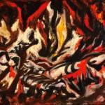 Jackson Pollock, The Flame, circa 1934–38