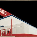 Edward Ruscha, Standard Station, Amarillo, Texas, 1963