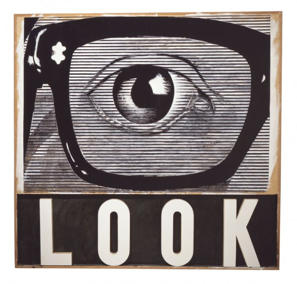 Joe Tilson, LOOK!, 1964.