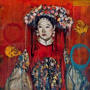Hung Liu, Manchu Bride, 2015