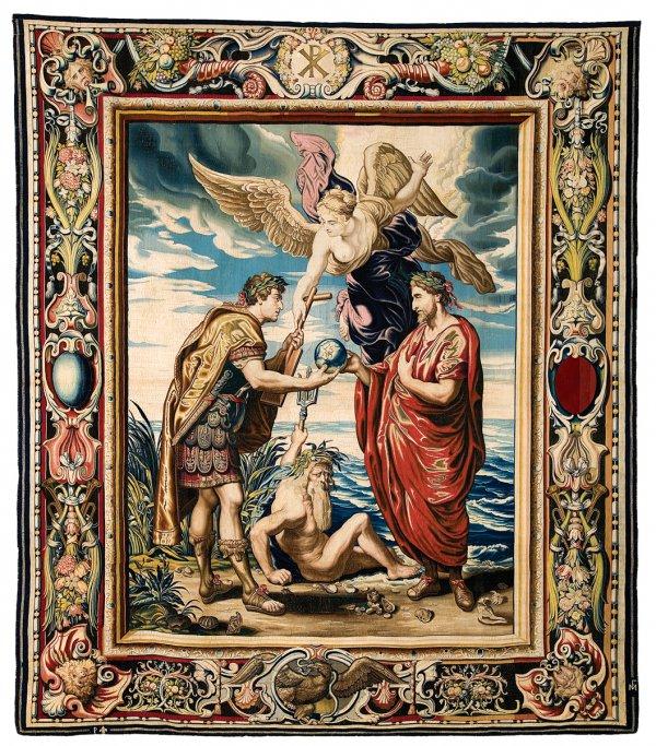 Constantius [I] Appoints Constantine as his Successor, circa 1625–27