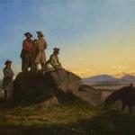 John Mix Stanley, Scouts along the Teton River, circa 1855