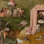 Hieronymus Bosch, Allegory of Gluttony and Lust