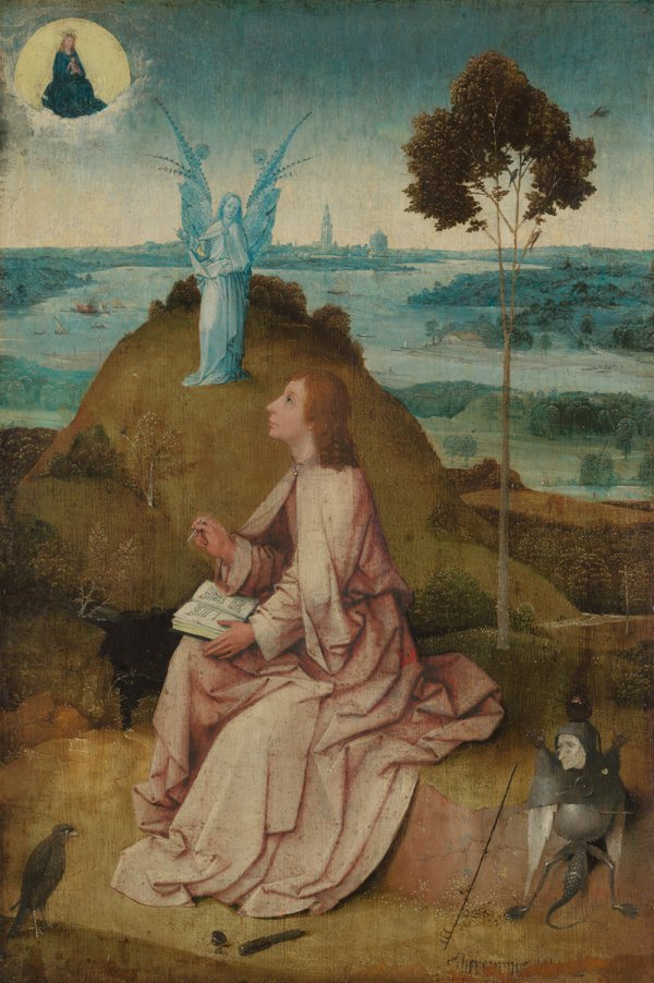 Hieronymus Bosch, Saint John on Patmos