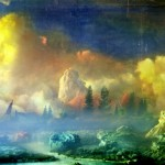 Kim Keever, West 38g, 2007;