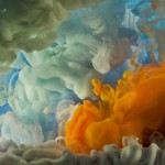 Kim Keever, Abstract 10166, 2014;