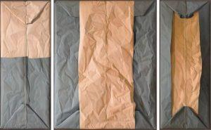 Claudio Bravo, Tríptico beige y gris/Beige and Gray Triptych, 2010