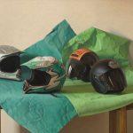 Claudio Bravo, Cascos/Helmets, 2009