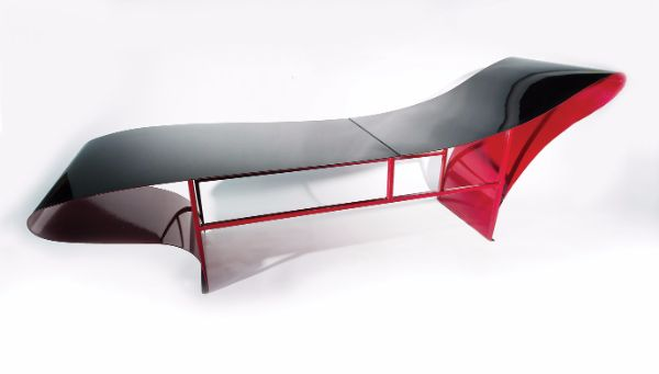 Vivian Beer, Ruffle Chaise, 2013