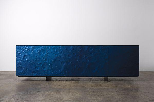 Alex Rasmussen, Blue Lunar Console, 2016
