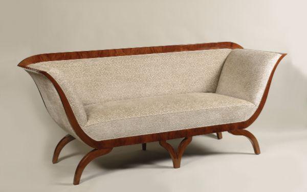 Biedermeier sofa attributed to Josef Danhauser