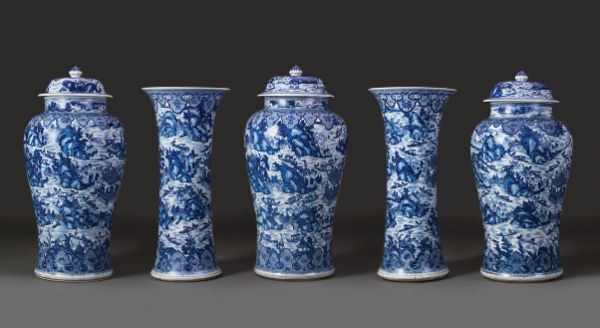 Garniture (West Lake), Qing dynasty