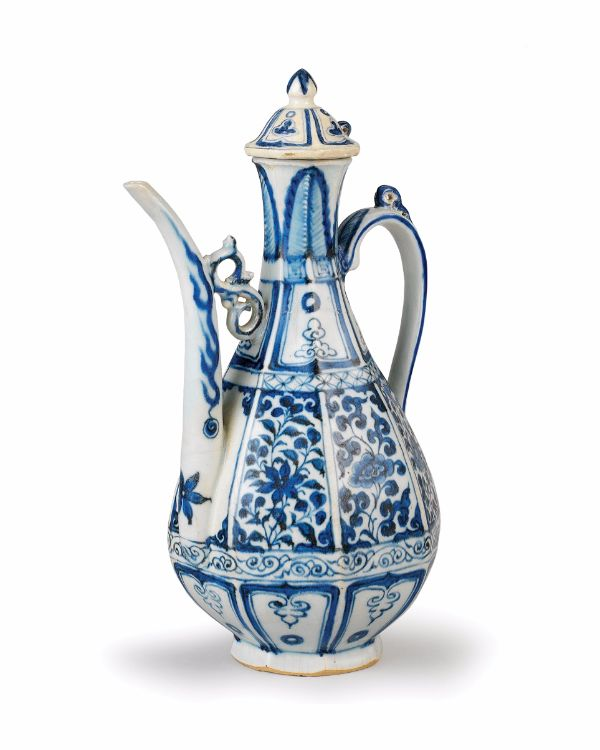 Ewer, Yuan dynasty, 14th century